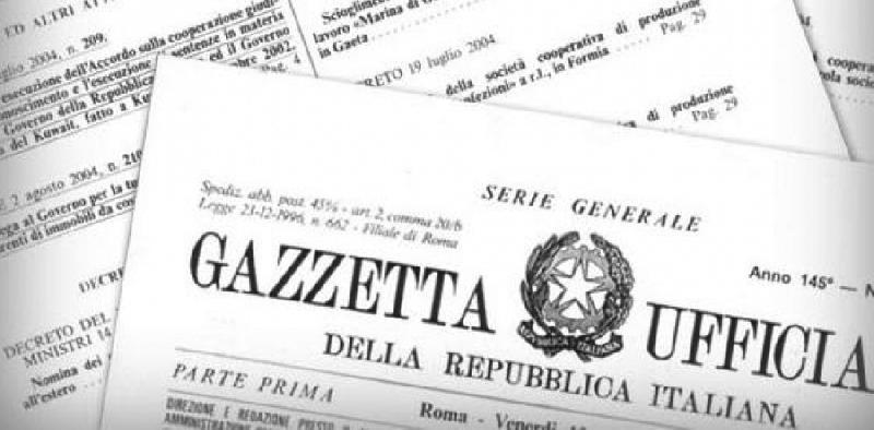concorsi Gazzetta Ufficiale