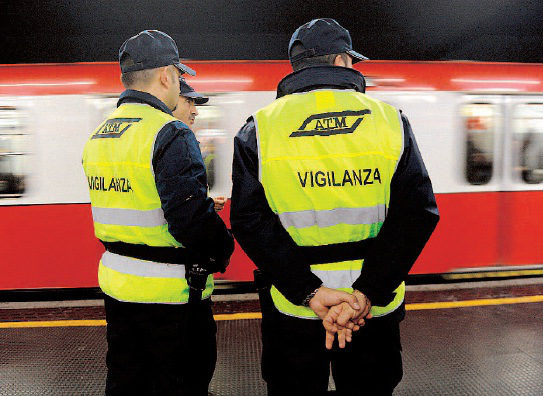 ATM Milano, lavoro Addetti Sicurezza