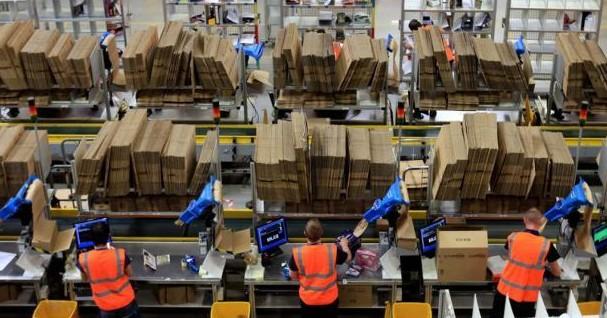 Amazon, offerte di lavoro Magazzinieri