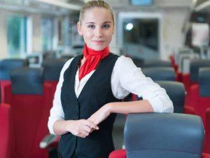 lavoro per hostess a bordo treno